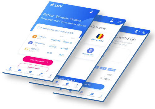 LDV Crypto Exchange